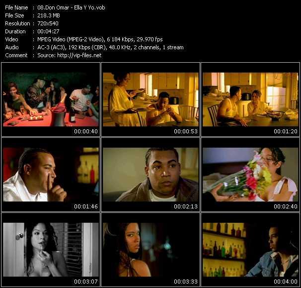 video Ella Y Yo screen