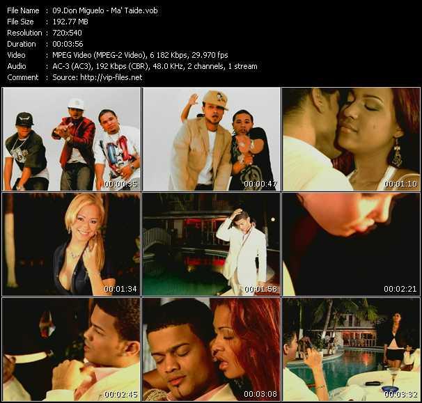 Don Miguelo video screenshot