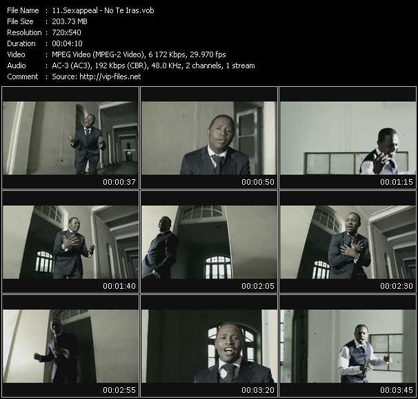 Sexappeal video screenshot