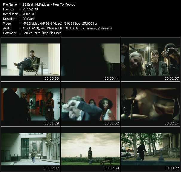Brain McFadden video screenshot