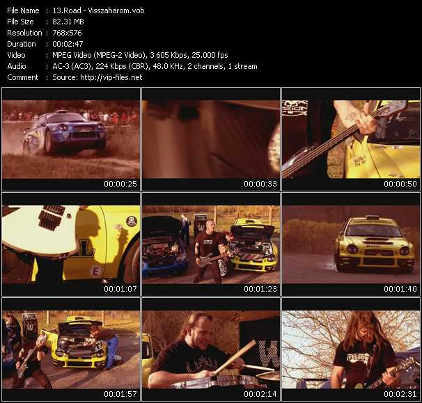 Road video screenshot