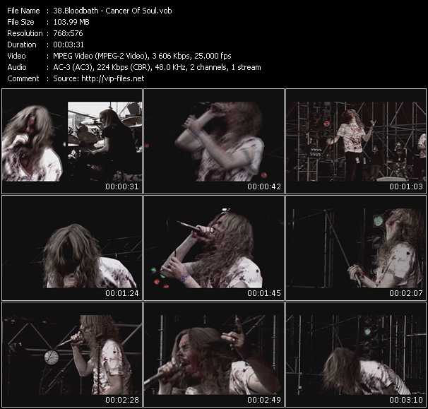 Bloodbath video screenshot