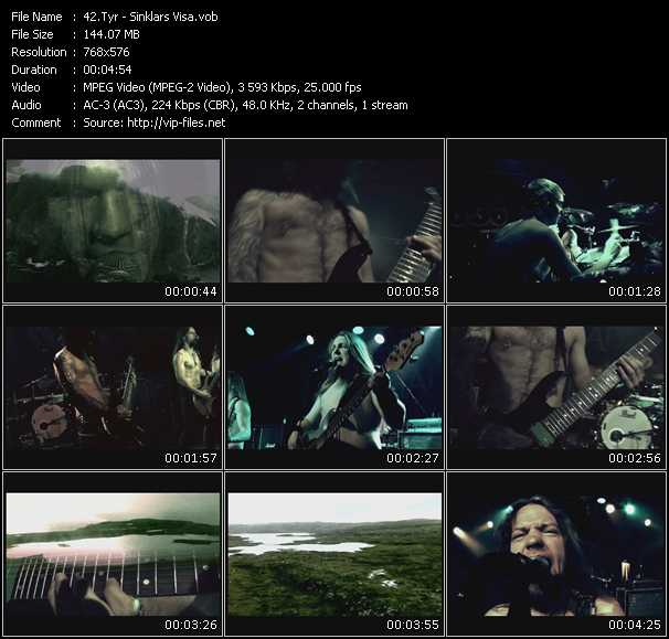Tyr video screenshot