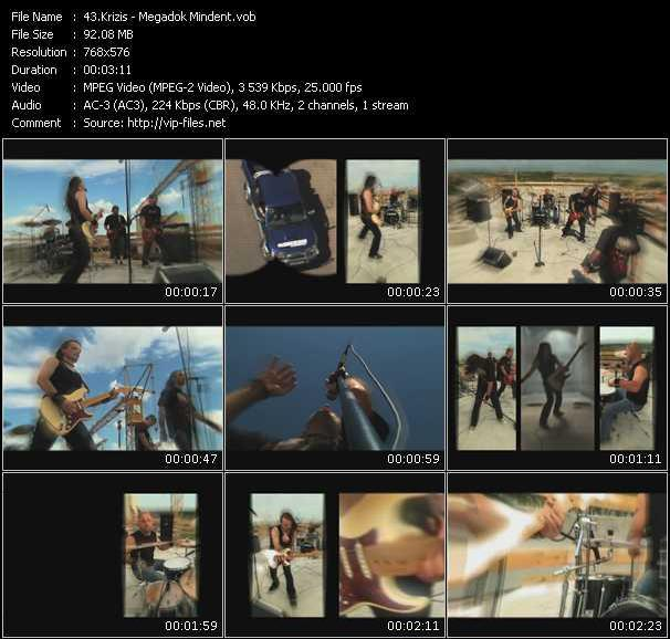 Krizis video screenshot