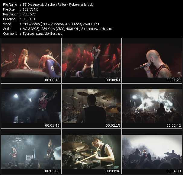 Die Apokalyptischen Reiter video screenshot