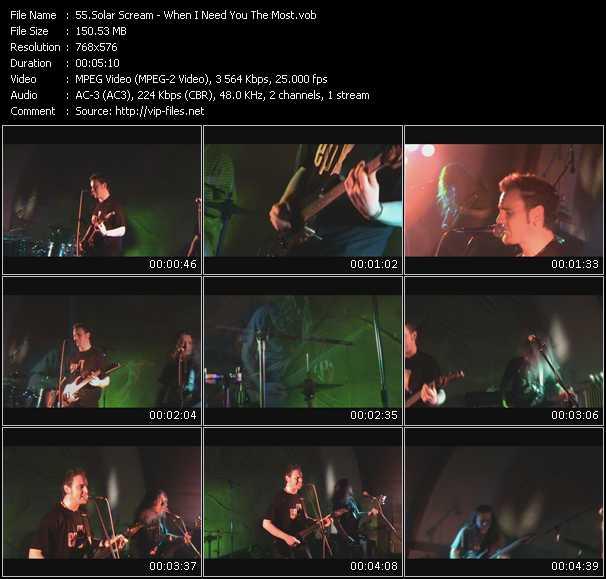 Solar Scream video screenshot