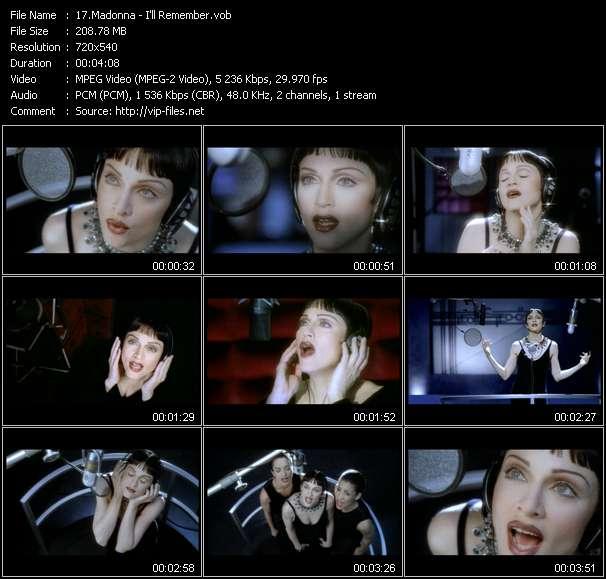 video I'll Remember screen
