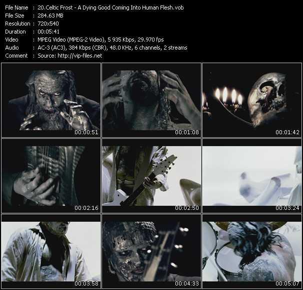 Celtic Frost video screenshot
