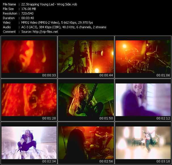 Strapping Young Lad video screenshot