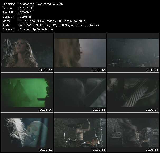 Manntis video screenshot