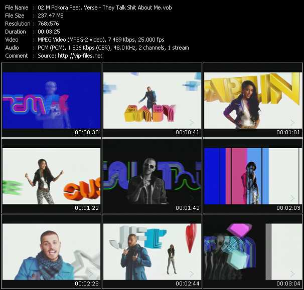 M. Pokora Feat. Verse video screenshot