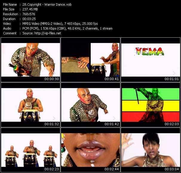 Copyright video screenshot