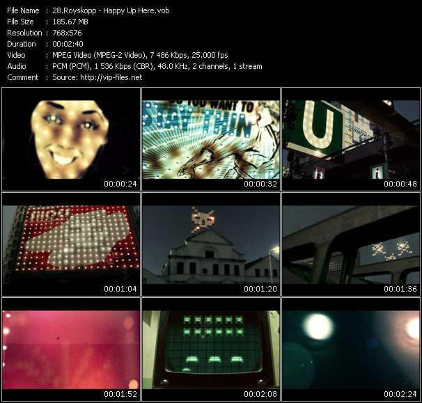 Royksopp video screenshot