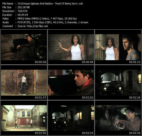 Enrique Iglesias And Nadiya video screenshot