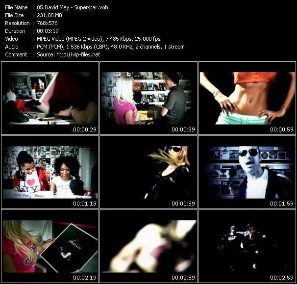 video Superstar screen