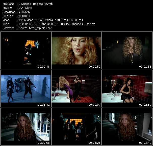 video Release Me screen