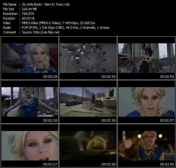 Little Boots video screenshot