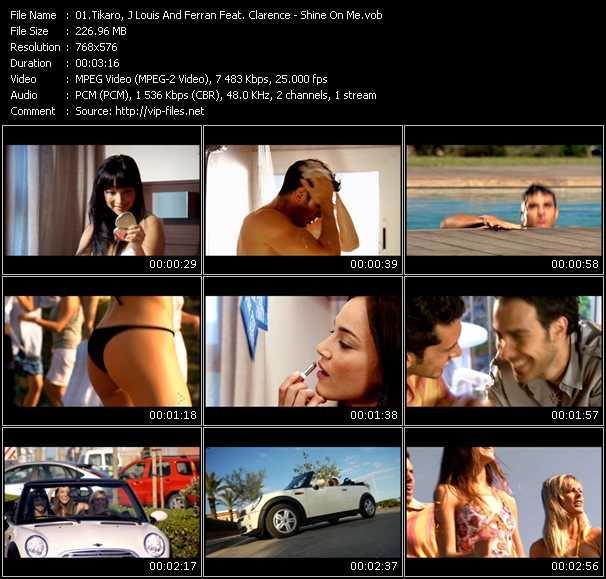 Tikaro, J. Louis And Ferran Feat. Clarence video screenshot