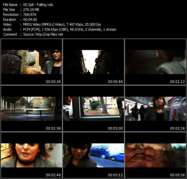 Spit video screenshot
