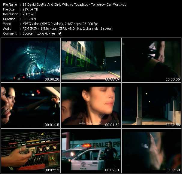 David Guetta And Chris Willis Vs. Tocadisco video screenshot