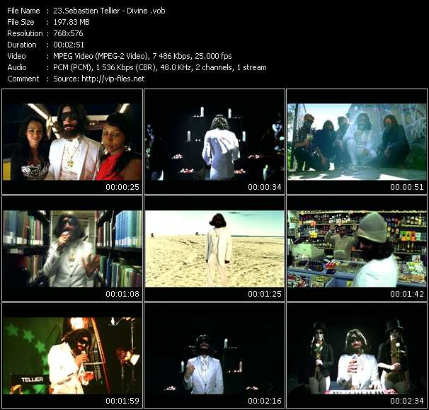 Sebastien Tellier video screenshot
