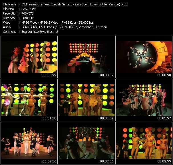 video Rain Down Love (Lighter Version) screen