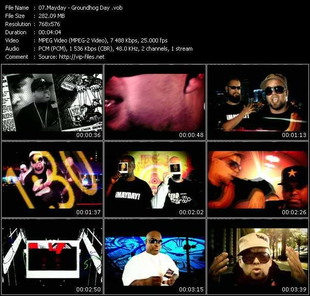 Mayday video screenshot