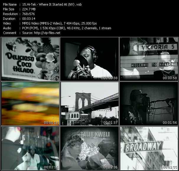 Hi-Tek video screenshot