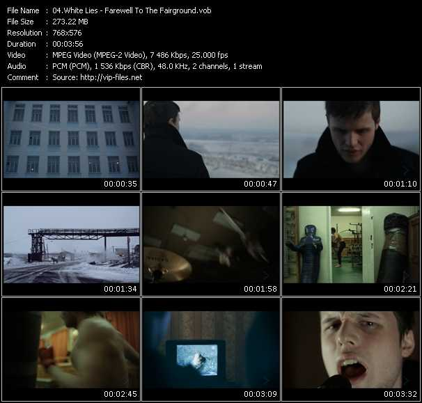White Lies video screenshot