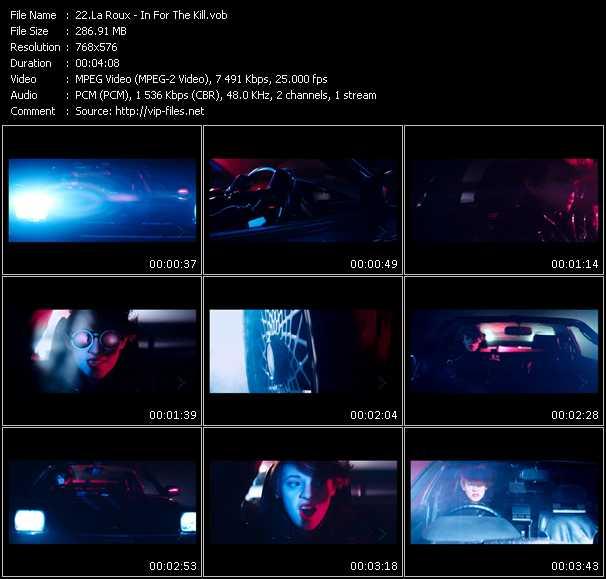 La Roux video screenshot