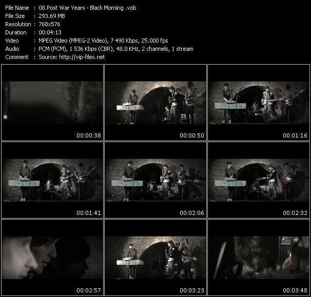 Post War Years video screenshot