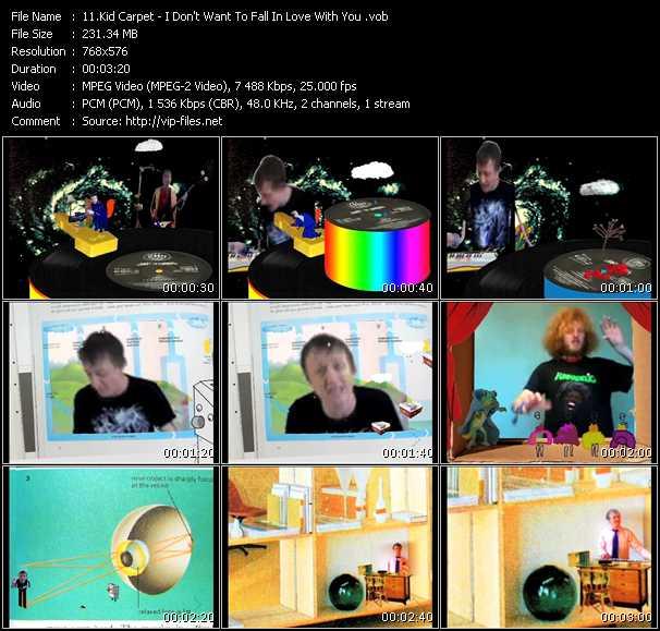 Kid Carpet video screenshot