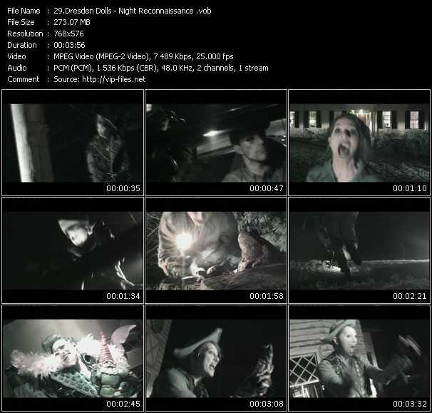 Dresden Dolls video screenshot