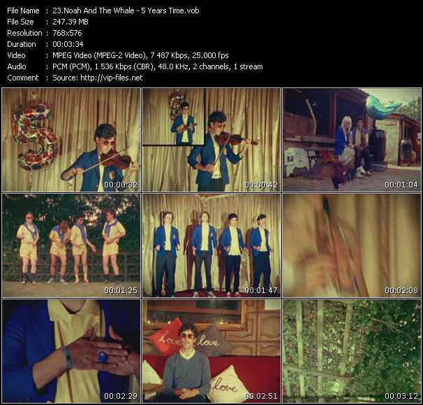 Noah And The Whale video screenshot