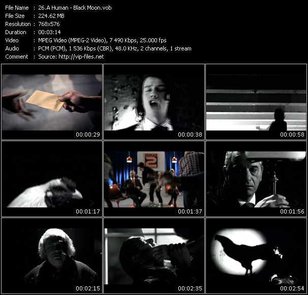 A Human video screenshot