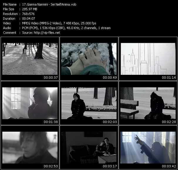 video Sei Nell'Anima screen