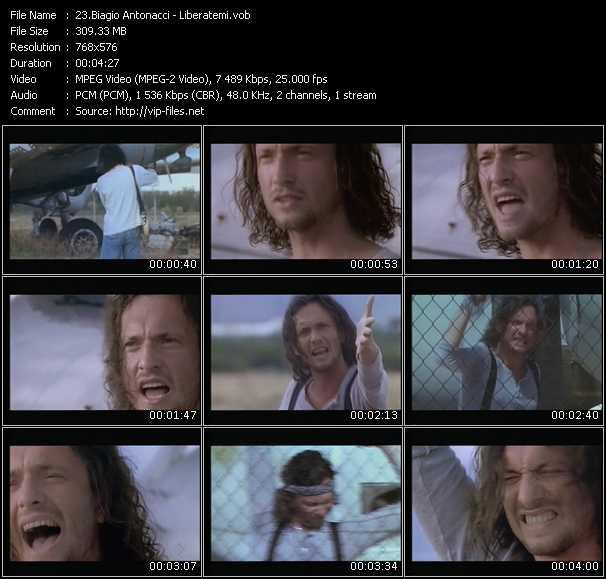 Biagio Antonacci video screenshot