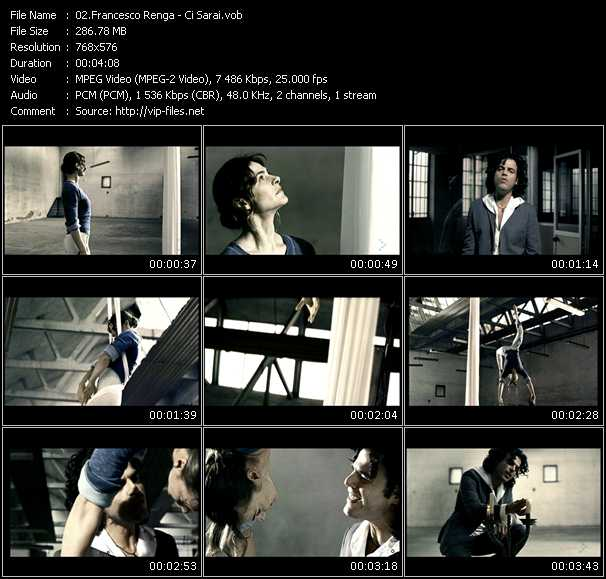Francesco Renga video screenshot
