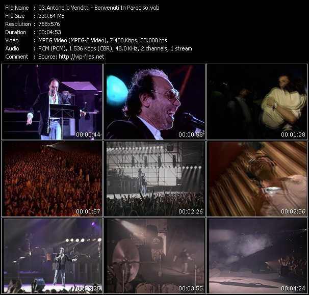 Antonello Venditti video screenshot