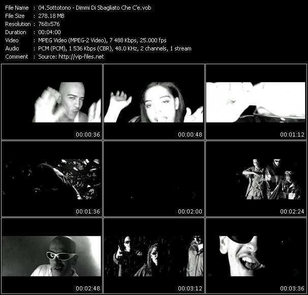 Sottotono video screenshot