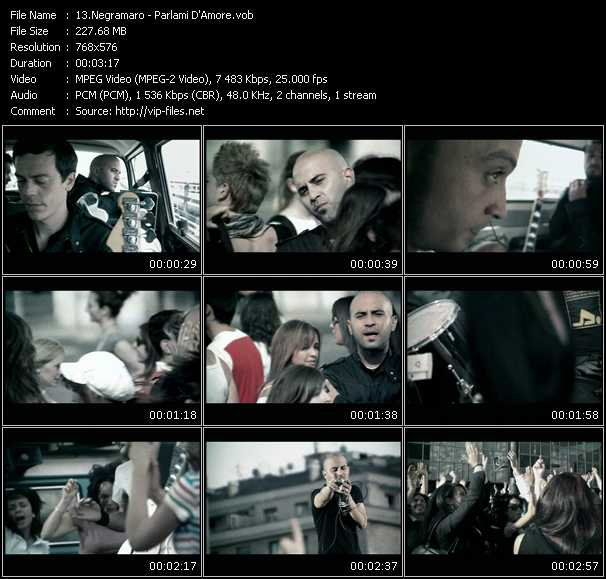 Negramaro video screenshot