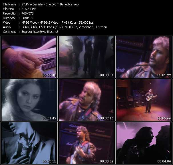 Pino Daniele video screenshot