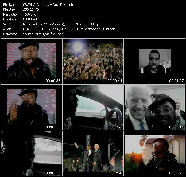 video It's A New Day screen