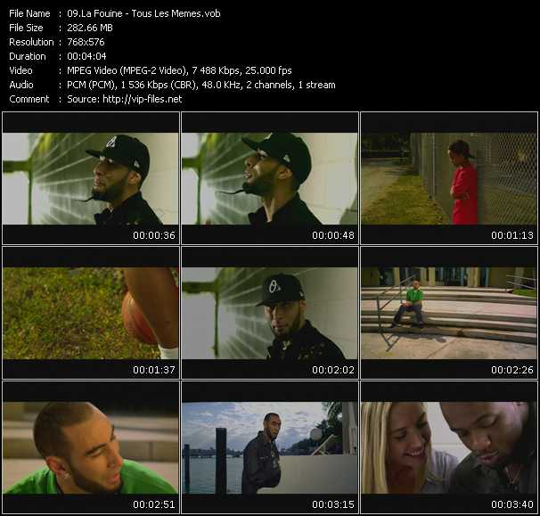 La Fouine video screenshot
