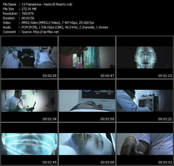 Falsalarma video screenshot