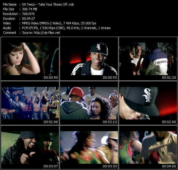 Teezy video screenshot