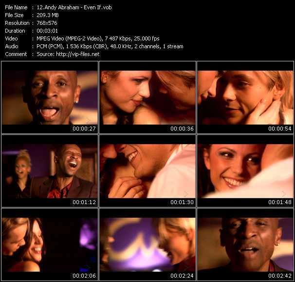 Andy Abraham video screenshot