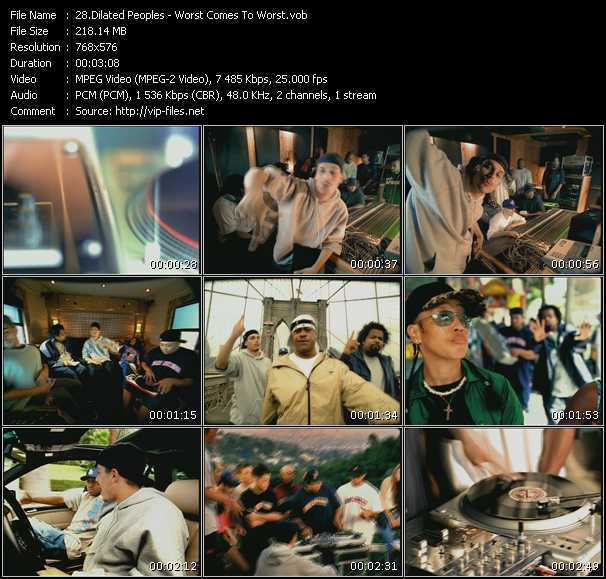 Dilated Peoples video screenshot