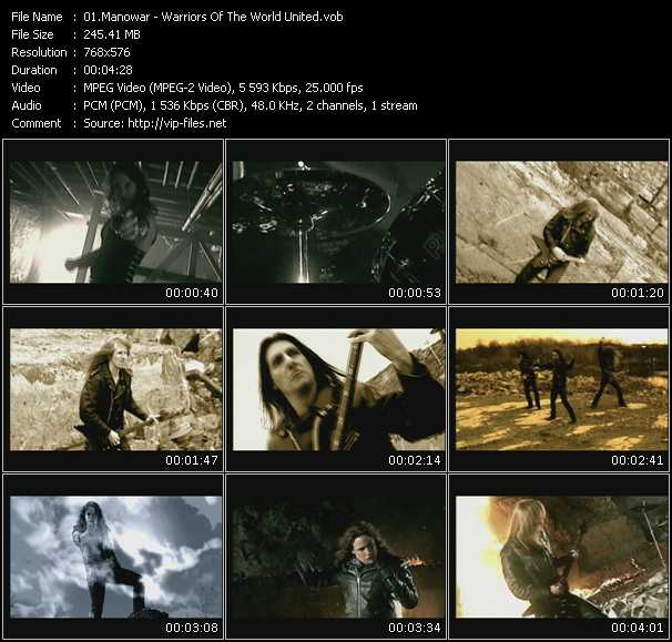 Manowar video screenshot