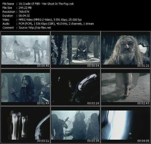 Cradle Of Filth video screenshot